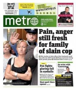 Today's Metro story