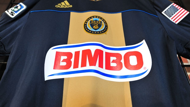 Here&#8217;s a photo of the new Philadelphia Union jersey