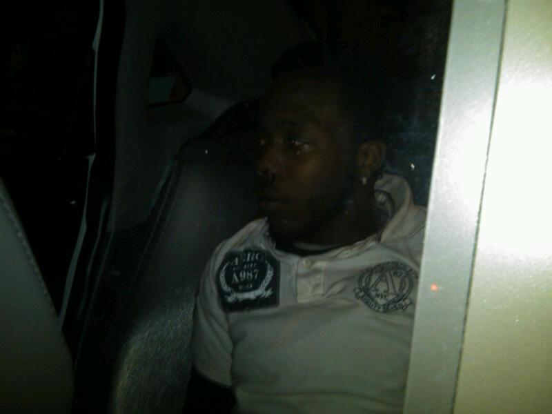 Here's a photo of the Kensington Strangler immediately after arrest