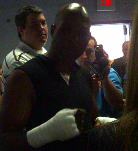 Here's Video And Photos From Bernard Hopkins Media Day