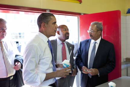 So, what did Philadelphia Mayor Michael Nutter think of Obama's speech?