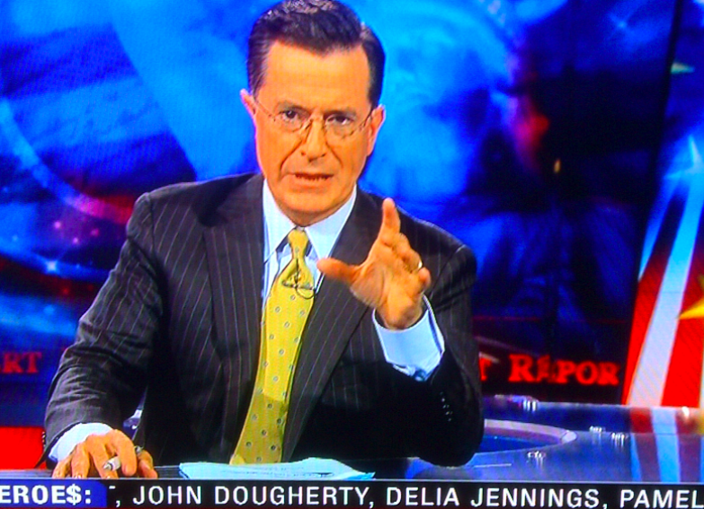 Didn't Realize Johnny Doc Was A Big Colbert Super PAC Fan