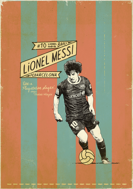 Here&#8217;s An Awesome Lionel Messi Poster