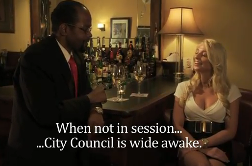 "Oh Look, The Gaddafi-delphia People Have Done An ""Untermeyer For Council"" Commercial"