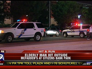 91-Year-Old Man Injured In Hit-and-Run Outside Phillies Game
