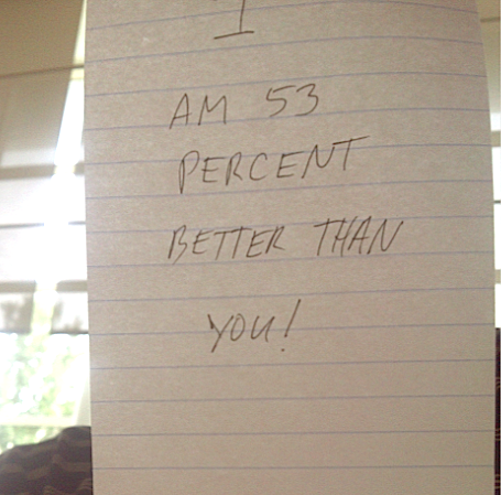 """Here's My """"We Are The 53 Percent"""" Sign"""