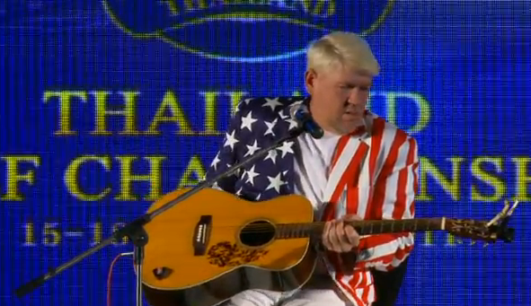 "Watch John Daly Cover ""Knockin' On Heaven's Door"" In Thailand"