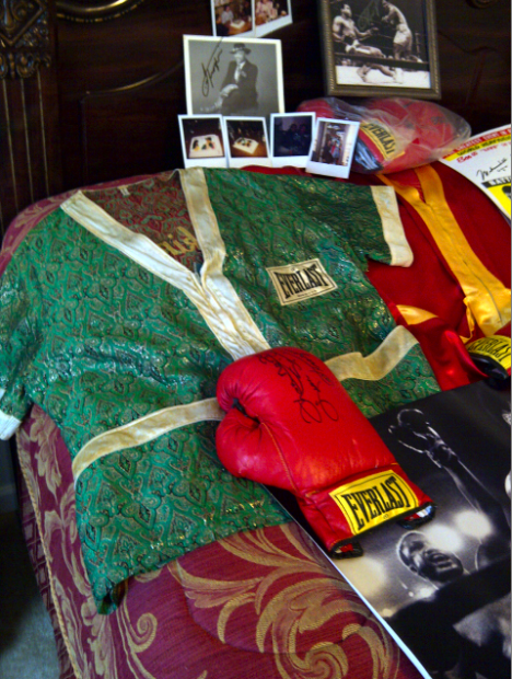 Here Are Some Pictures Of Great Joe Frazier Memorabilia