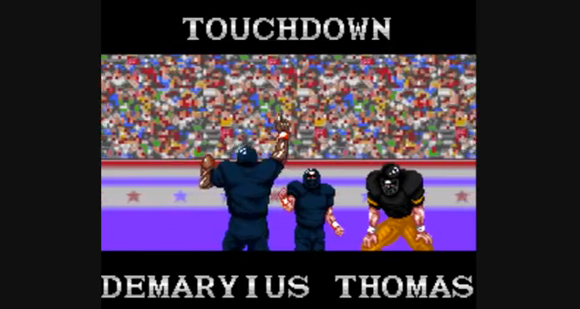 Watch A Tecmo Take On The Tebow-to-Demaryius OT TD
