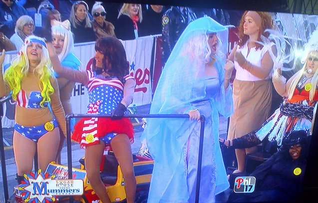 The Mummers Must Not Know What They Look Like On TV