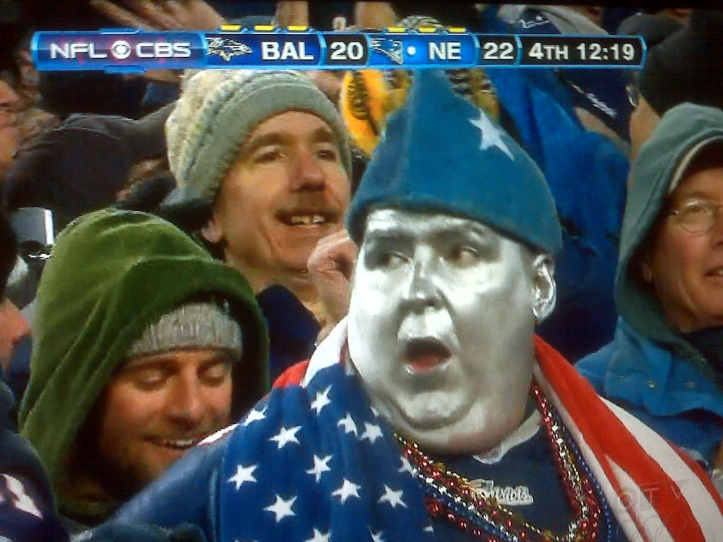 If This Is The Face Of The Patriots Fan, White Jesus Has Much Work Left