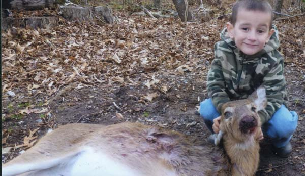 Oh Cool, A 4-Year-Old Kid Shot A Deer Dead