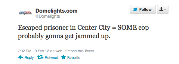 About That Escaped Prisoner Wearing UGGs In Center City Philadelphia…