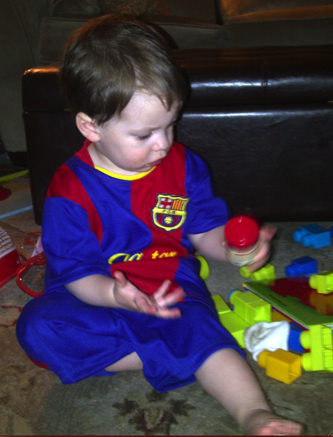 Louden Wore His Messi Jersey In Honor Of Leo Breaking The All-Time Barca Scoring Record