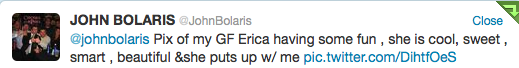 Your @JohnBolaris Tweet Of The Week*