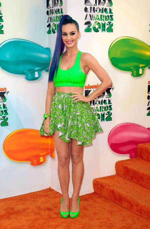 In Case You Were Wondering What Katy Perry Wore To The Kid's Choice Awards…