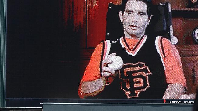 Watch Bryan Stow's Son Throw Out The First Pitch At The Giants Game…
