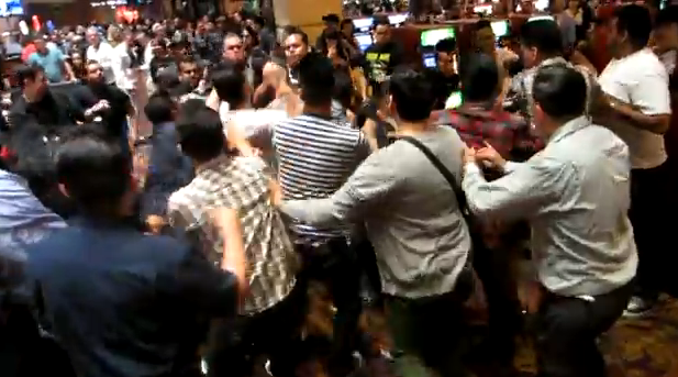 Check Out This Las Vegas Casino Brawl