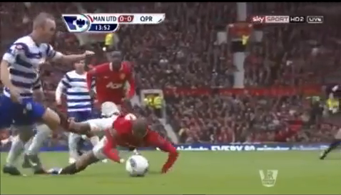 Ashley Young's Diving Gets The Taiwanese-Animation Treatment