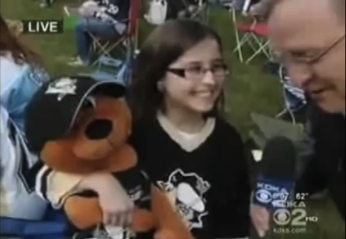 In Pittsburgh, Little-Girl Penguins Fans Name Their Teddy Bears After Beer