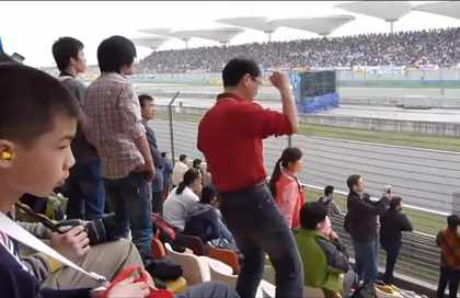This Chinese Dude Really, REALLY Digs Formula One Racing