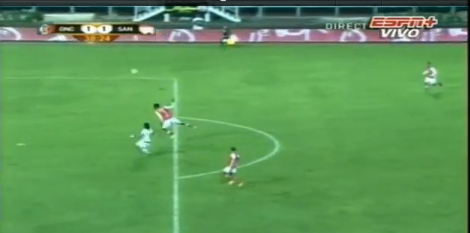 Colombian Gets 18-Yard Own-Goal Header, Red Carded, Stretchered Off Pitch