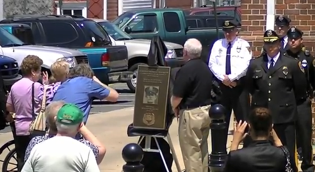 South Jersey Police Officer Killed In A 1946 Hit-And-Run Honored At Friday Ceremony