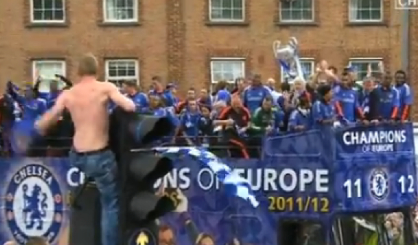 Here's The Chelsea Champions League Parade In London