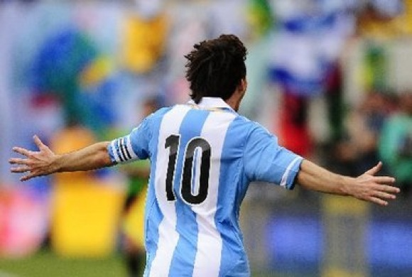 Watch Lionel Messi Score A Hat Trick Against Brazil (Video)