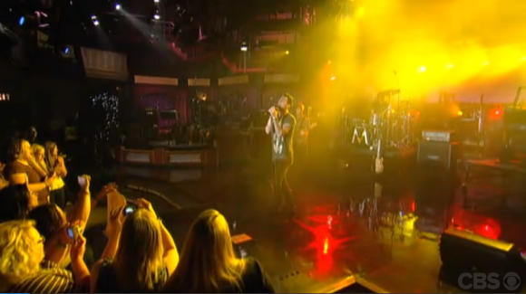 In Case You Missed 'Payphone' On Letterman Last Night …