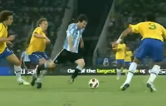 Watch Lionel Messi's Top 5 Goals For Argentina
