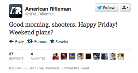 Here Are The Horrible @NRA_Rifleman And @CelebBoutique Tweets That Got Deleted