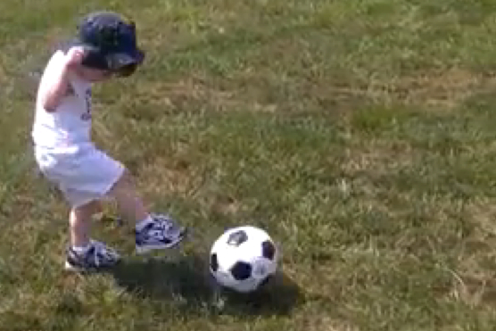 Let's Watch Louden Kick A Soccer Ball, Shall We?