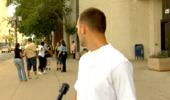 Today In Parolee Interviews Interrupted By Street Fights Outside Jails