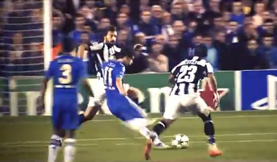 Oscar Scored a Magnificent Goal for Chelsea vs. Juventus in Champions League Play