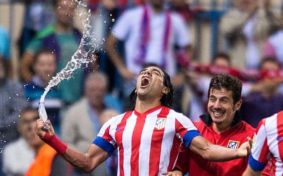 Check Out Falcao&#8217;s Game-Winning Free Kick for Atletico vs. Real Sociedad