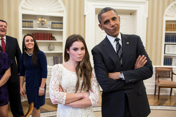 While President Obama And Olympic Gymnast McKayla Maroney Are Not Impressed …