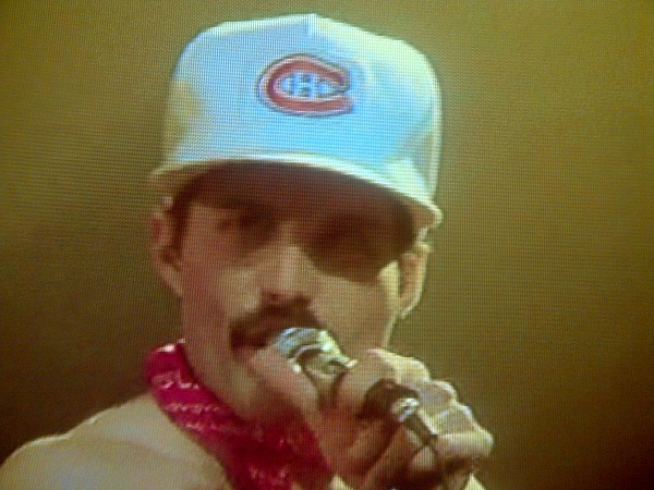 Your Nhl Lockout Respite Freddie Mercury Wearing A Montreal Canadiens Hat Philly Blunt