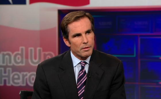 Bob Woodruff Was On The Daily Show Talking About His TBI-Inspired Cause