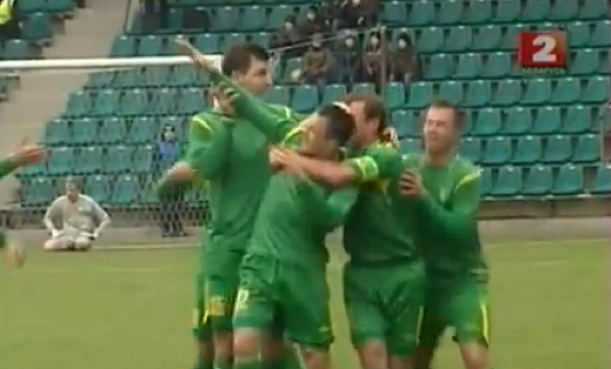Here&#8217;s Andrey Lyasyuk With The Belarusian Futbol Highlight Of The Day