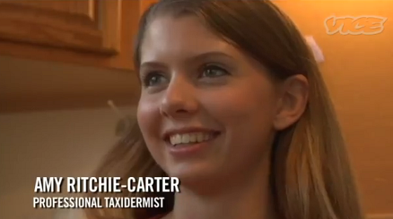If You Watch Only One Video About Female Taxidermists Today, Make It This One From Vice