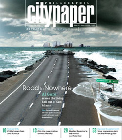 After Hurricane Sandy, I Really Hate This 2006 City Paper Cover That I Dreamed Up
