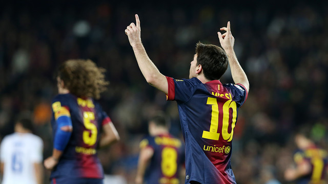 Watch Lionel Messi Tie And Break The Record For Goals Scored In A Calendar Year