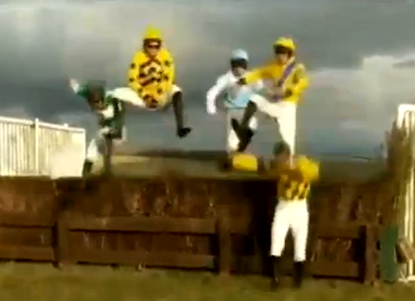 In Case You Wondered What The Inevitable Jockey Version Of Gangnam Style Would Look Like…