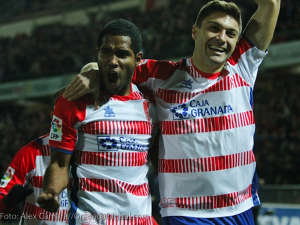 Check Out The Cheeky Goal Brayan Angulo Scored For Granada On Saturday