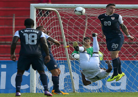 Here's A Great Honduras Goal From Yesterday's Sad USMNT World Cup Qualifier