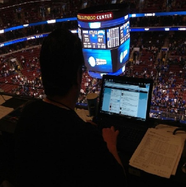 Hey Look, That&#8217;s Me Tweeting After The Duke/Albany March Madness Game In Philly