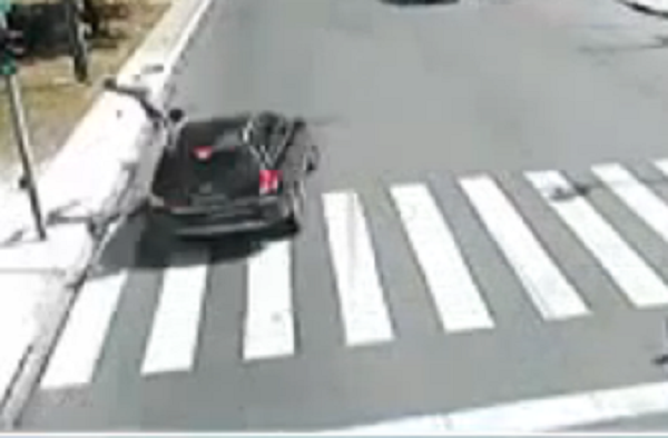 Wish I Didn't Watch This Video Of A Bicyclist Getting Struck By A Car