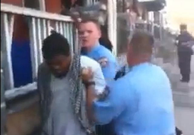 This Old Video Of A Philly Cop Punching A Handcuffed Guy In The Face Got Posted On YouTube Again Today