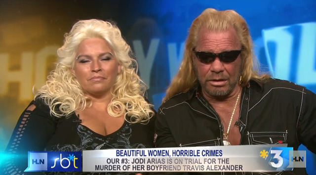 Here Are A Couple Screengrabs Of Dog The Bounty Hunter And Bride Talking About Jodi Arias